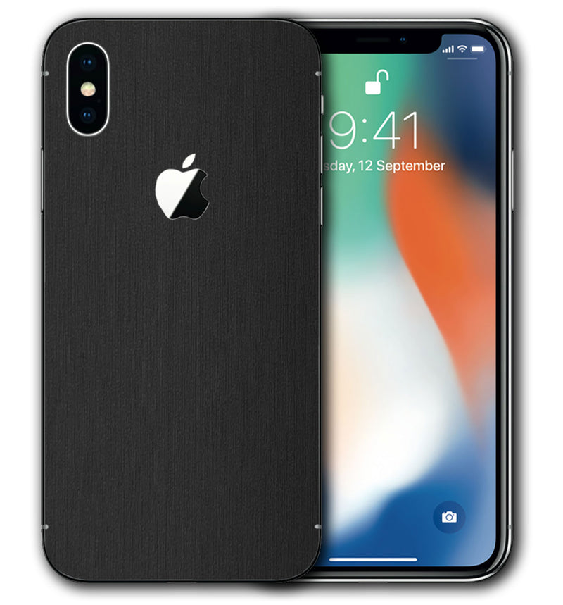 iPhone X Brushed Aluminum Collection - JW Skinz