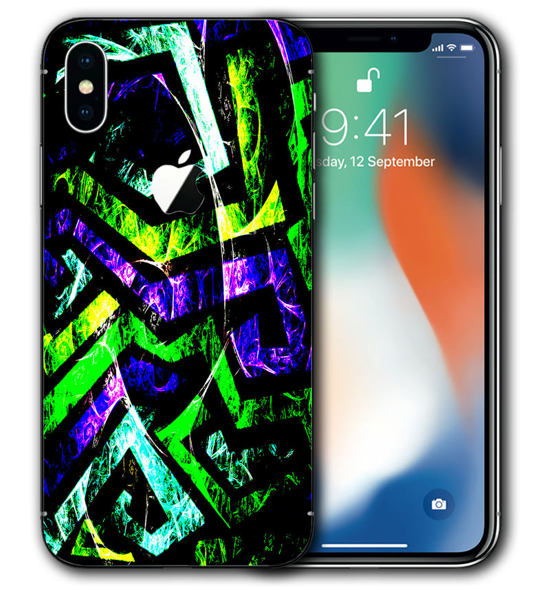 iPhone X Phone Skins Abstract - JW Skinz