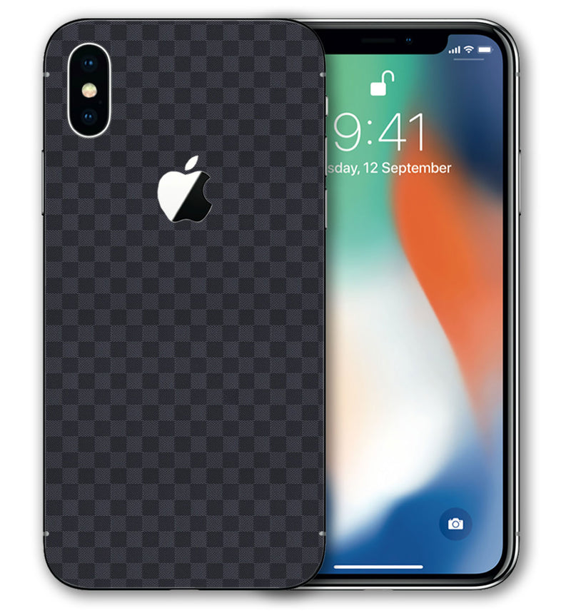 iPhone Xs Phone Skins Plaid - JW Skinz