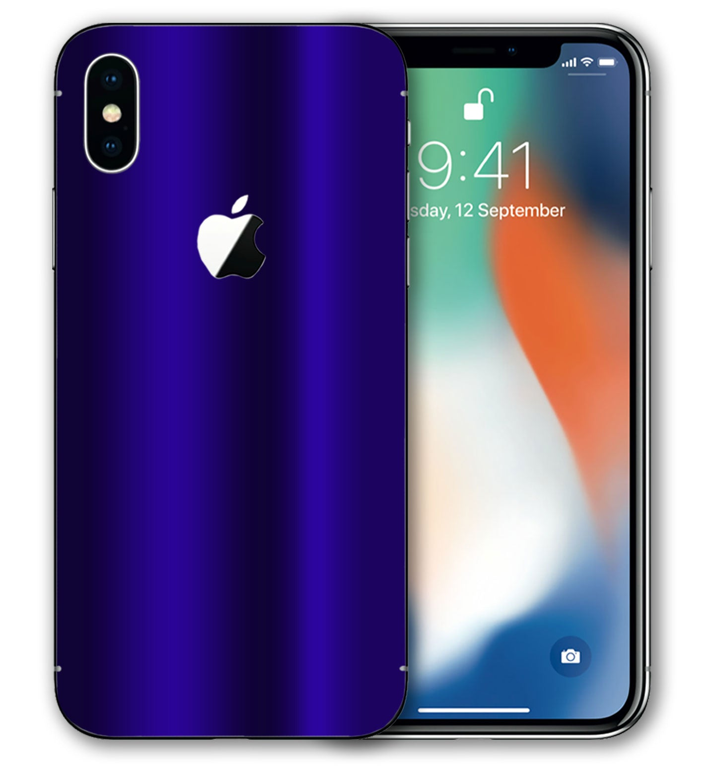 iphone xs chrome case