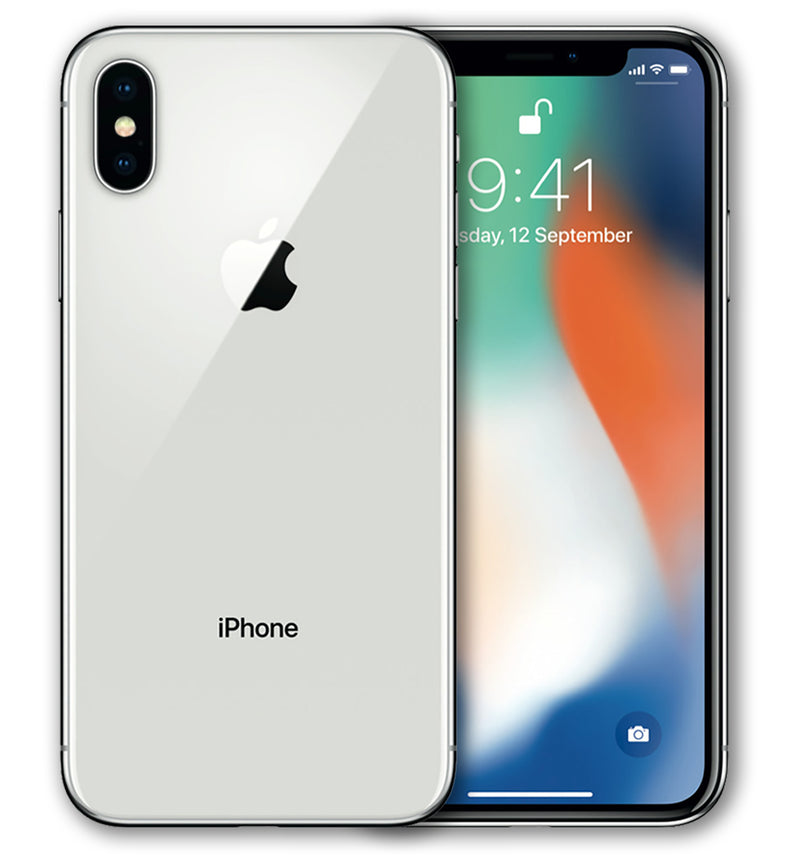 iPhone X Phone Skin Clear - JW Skinz