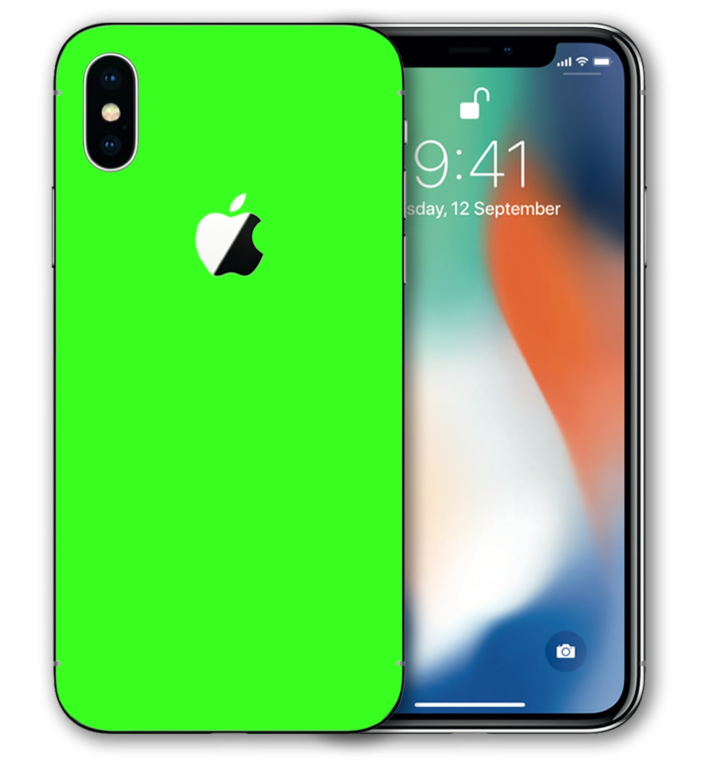 cheap for discount 76541 a3cbb iPhone X Phone Skins Fluorescent