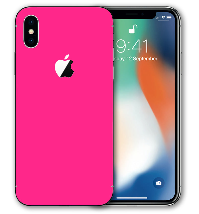 iPhone Xs Max Phone Skins Fluorescent - JW Skinz