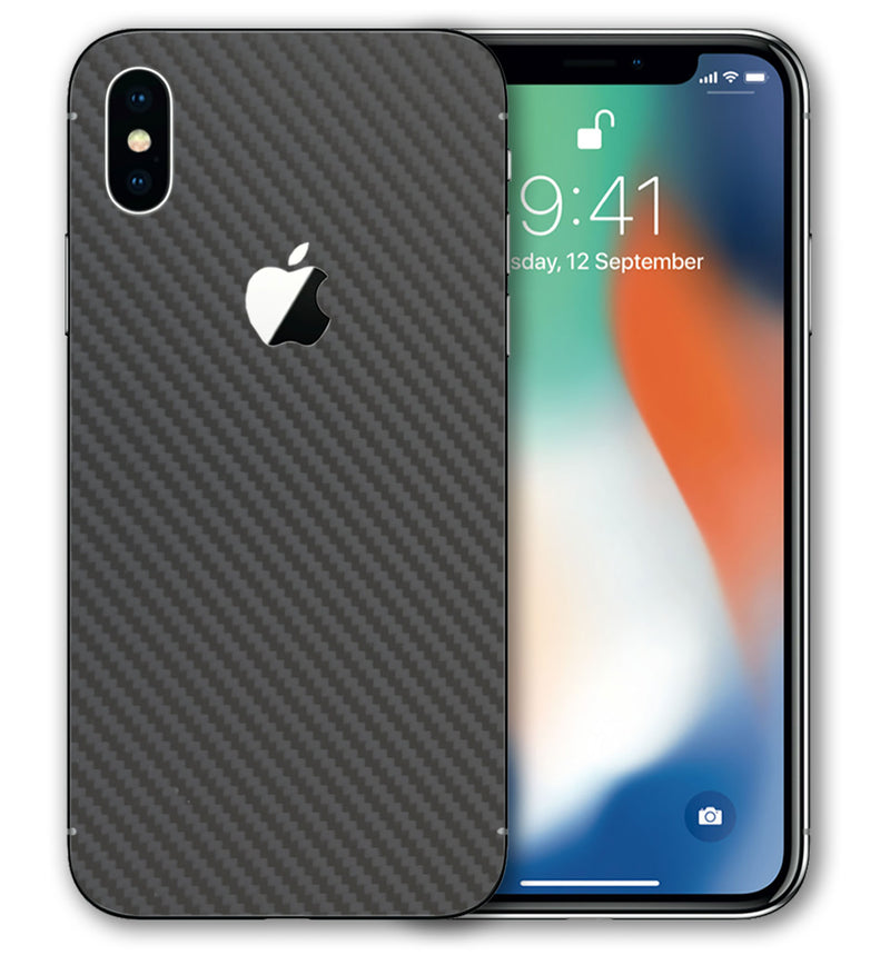 iPhone Xs Phone Skins Carbon Fiber - JW Skinz