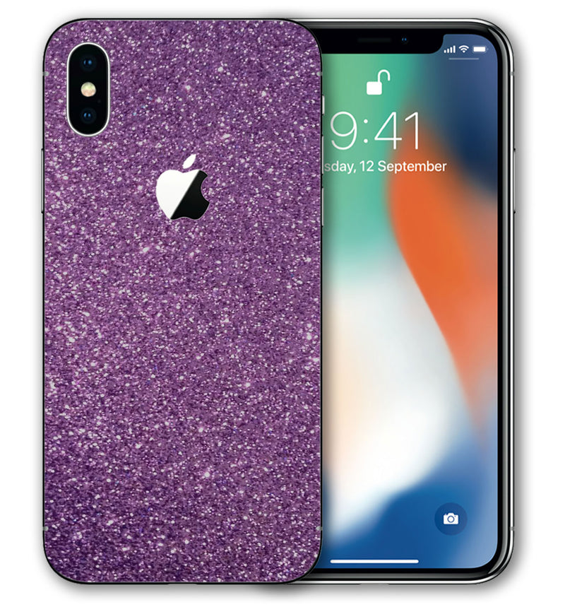 iPhone X Phone Skins Sparkle - JW Skinz