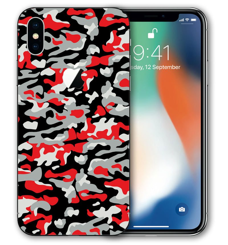 iPhone Xs Phone Skins Camo