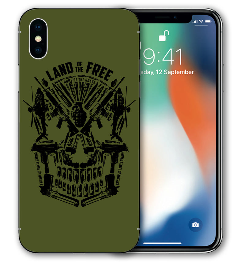 iPhone Xs Phone Skins Freedom