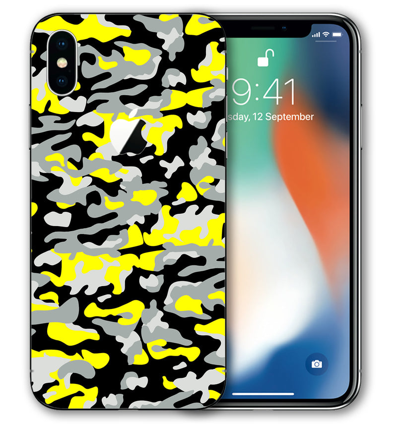 iPhone X Phone Skins Camo - JW Skinz