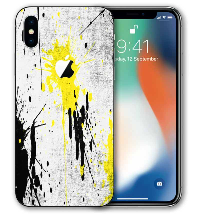 iPhone Xs Max Phone Skins Paint Splatter - JW Skinz