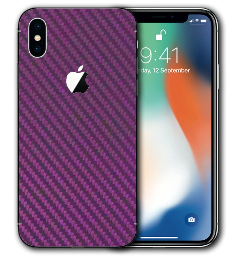 iPhone X Carbon Fiber Collection - JW Skinz