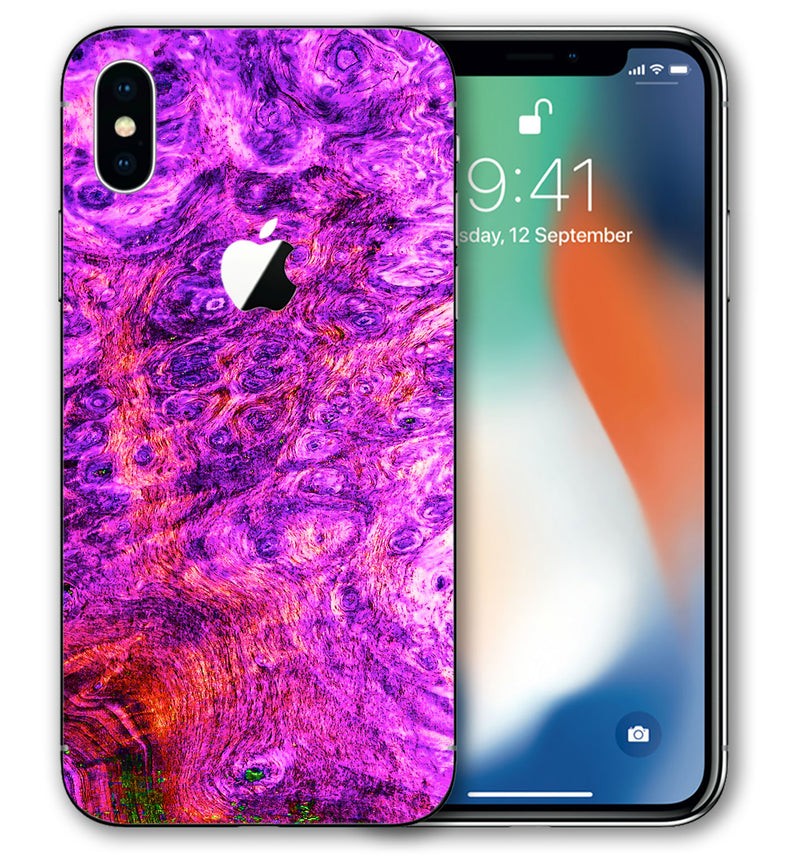 iPhone X Stabilized Wood Collection - JW Skinz