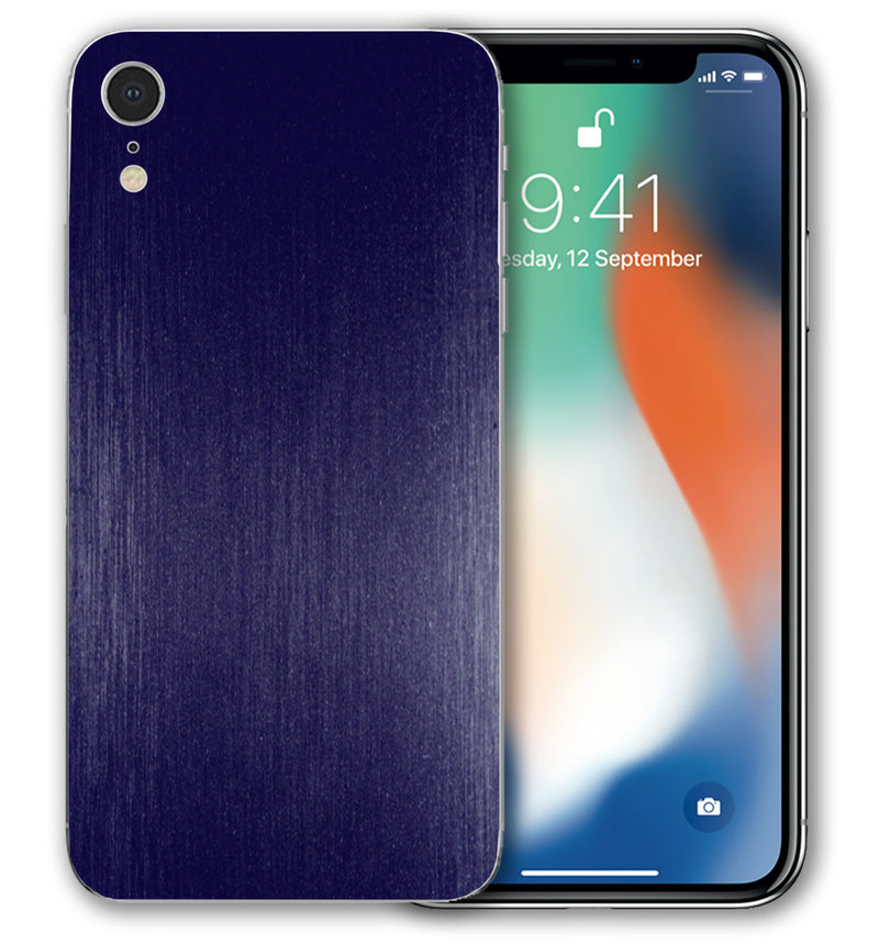 iPhone XR Phone Skins Brushed Aluminum (Pre Order) - JW Skinz