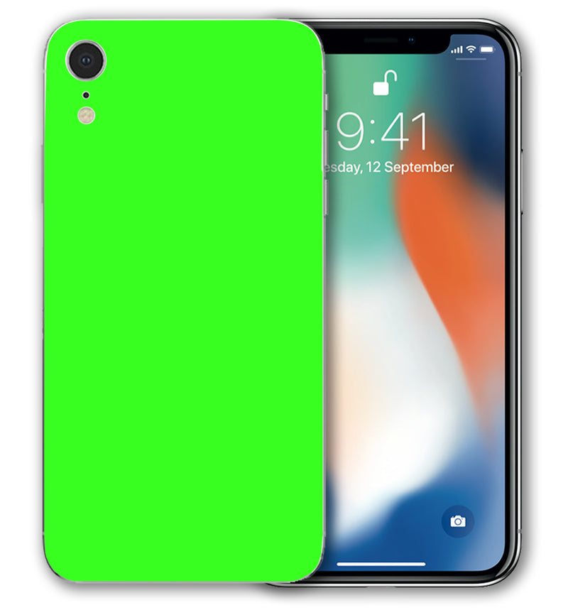iPhone XR Phone Skins Fluorescent (Pre-Order) - JW Skinz