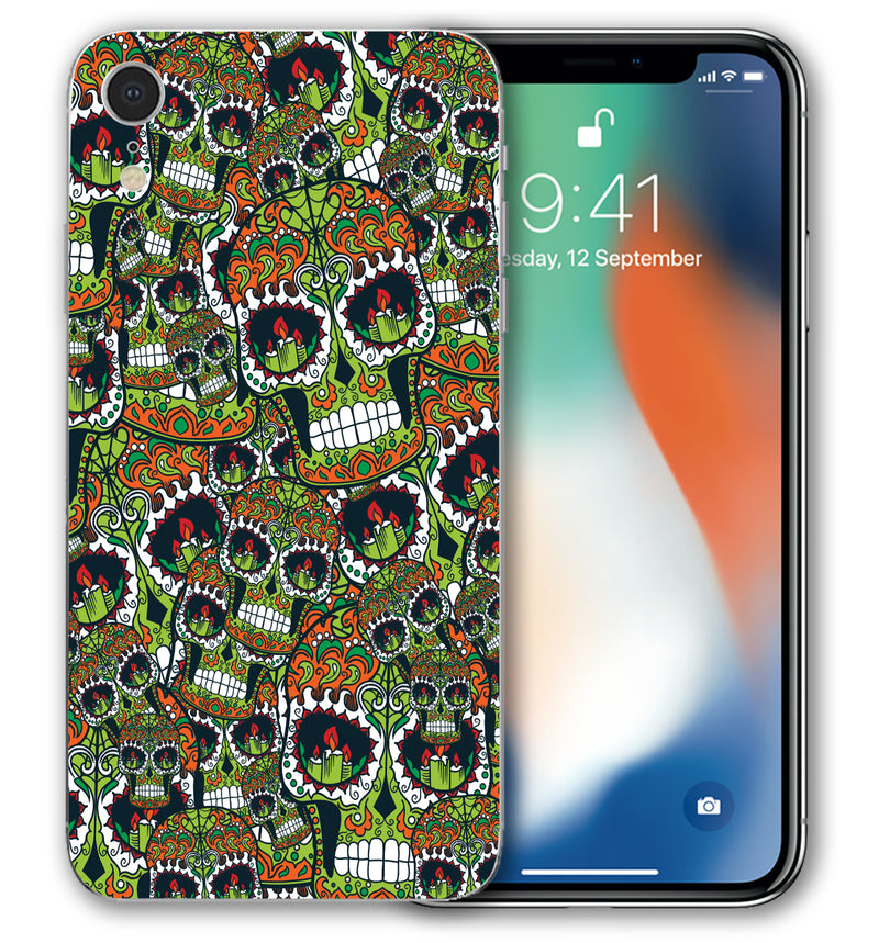 iPhone XR Phone Skins Sugar Skulls (Pre-Order)