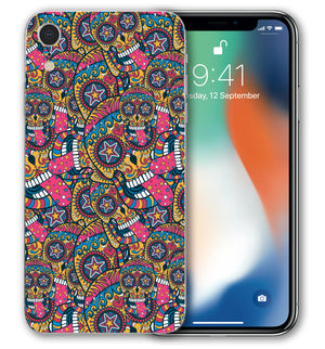 iPhone XR Phone Skins Sugar Skulls (Pre-Order) - JW Skinz