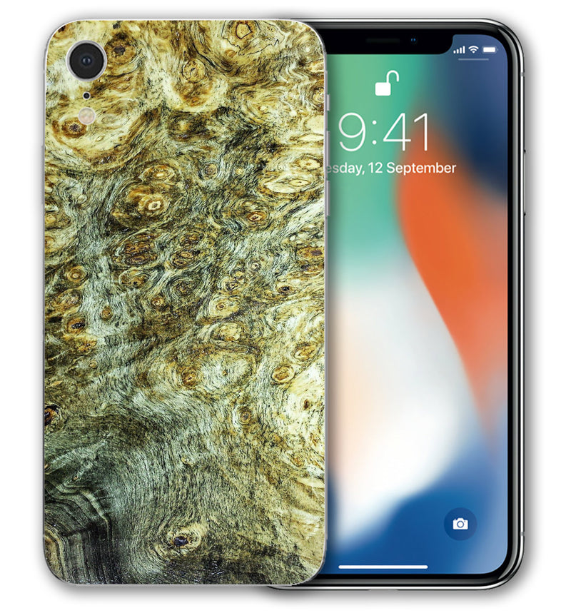 iPhone XR Phone Skins Stabilized Wood (Pre-Order) - JW Skinz