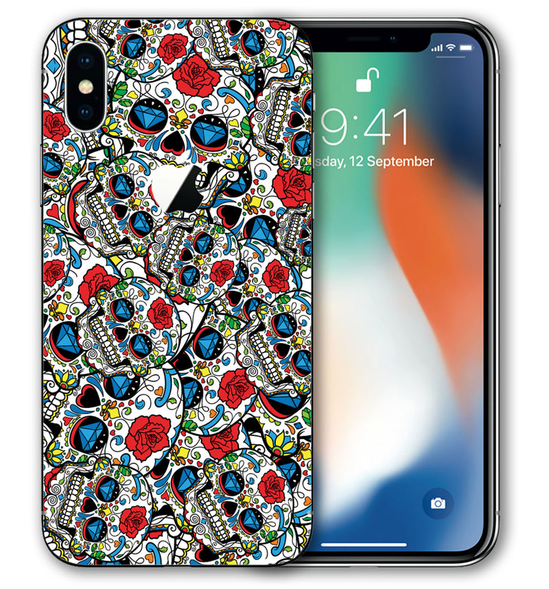iPhone X Sugar Skulls Collection - JW Skinz