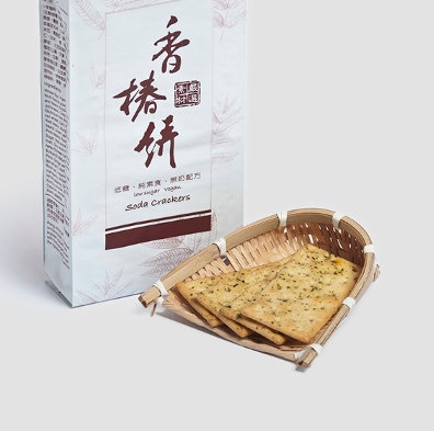 Chinese Mahogany Soda Crackers - Jing Si Books & Cafe