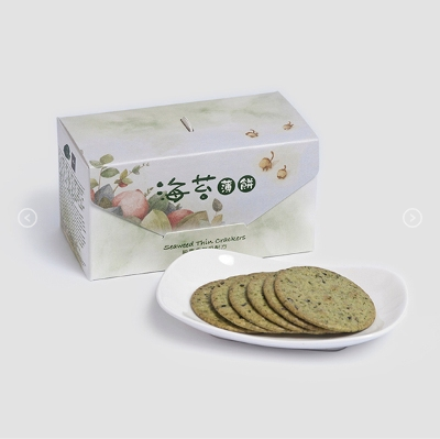 Seaweed Thin Crackers - Jing Si Books & Cafe