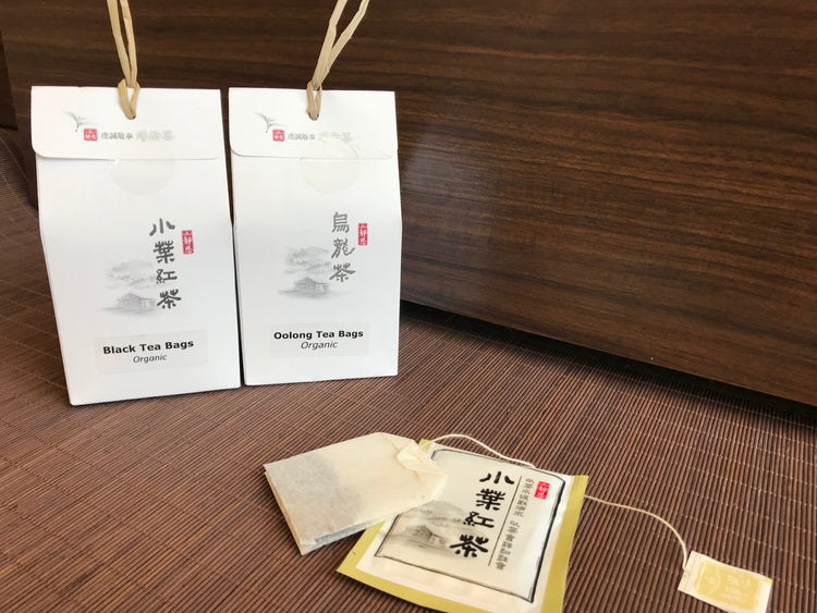 Jing Si Tea bags - Oolong or Black Tea
