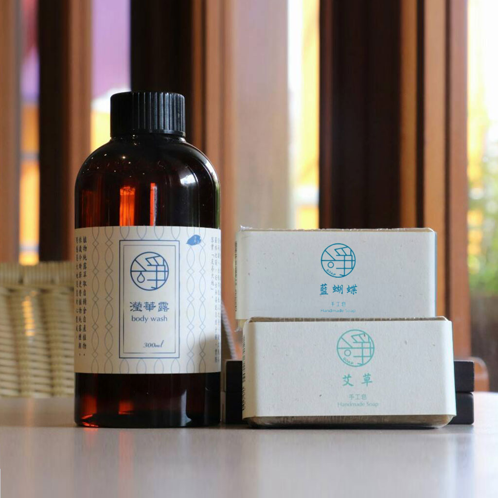 Body Wash + Jingsi Soap Set
