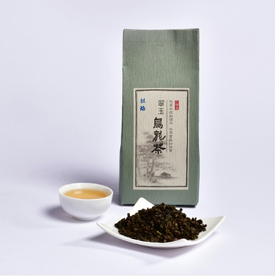 Jade Oolong Tea (light) - Jing Si Books & Cafe