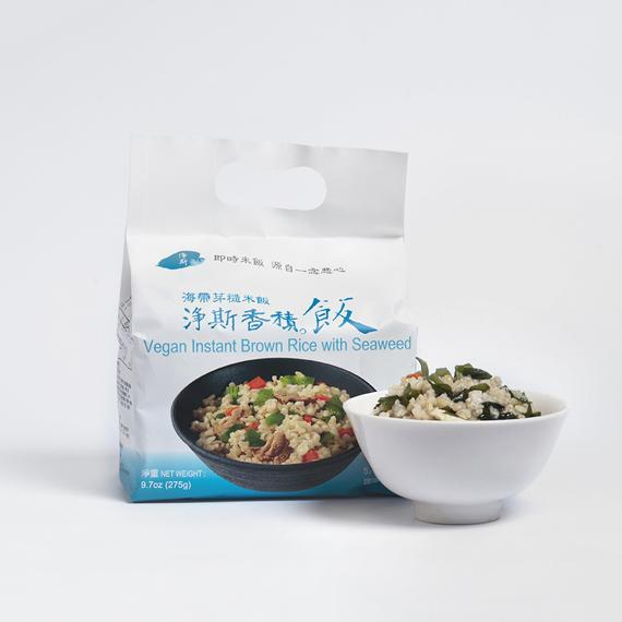 Jing Si Rice, Brown Rice Seaweed
