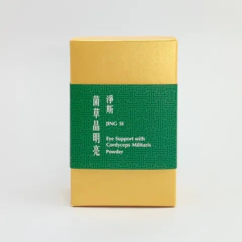 Jing Si Eye Support with Cordyceps Militaris Powder / 净斯菌草晶明亮