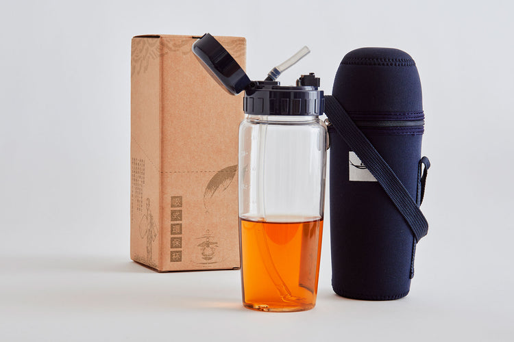 Eco-Friendly Water Bottle (With Straw)
