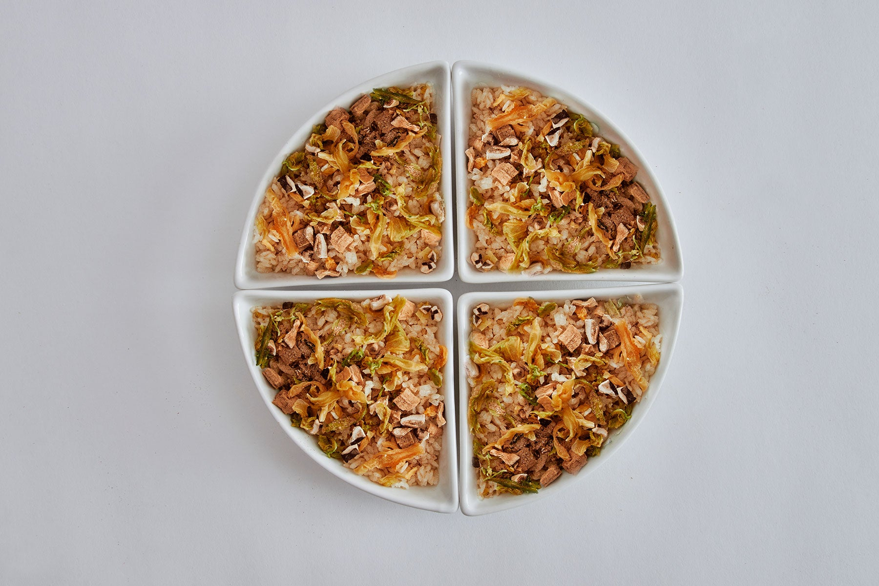 Jing Si Rice, Mixed Vegetables