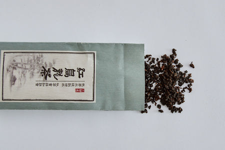 Black Oolong Tea Leaves