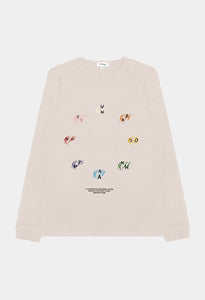 COLOR THEORY UNIVERSAL LS TEE - ANTIQUE WHITE