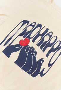 TOUCH OF LOVE UNIVERSAL SS TEE - ANTIQUE WHITE