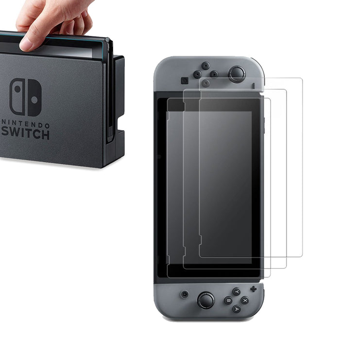 High Response Clear PET Film Screen Protector for Nintendo Switch