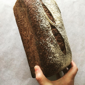 The Mill Bakehouse Wholemeal Sourdough Tin Loaf