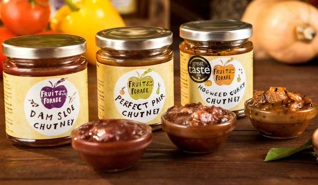 SPECIAL OFFER CHUTNEY DEAL THREE FOR £10