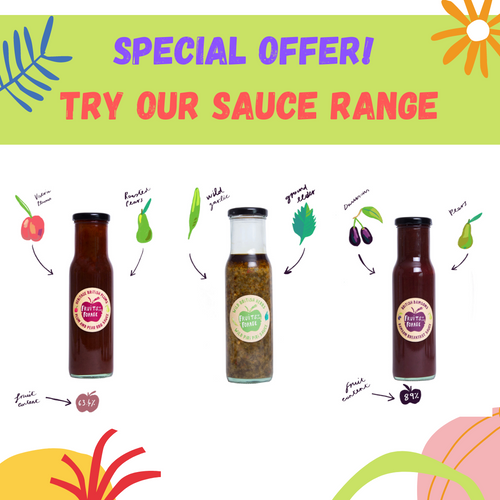 SPECIAL OFFER! TRY OUR NEW SAUCE RANGE FOR £12!