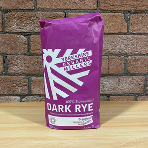 Yorkshire Organic Millers Whole Dark Rye 1.5kg