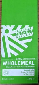 Yorkshire Organic Millers Strong Wholemeal Flour 2kg