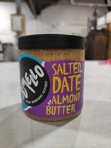 Salted Date Almond Butter