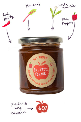 Hot Rhuby Chilli Preserve