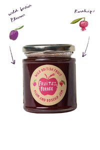 Plum and Rosehip Jam