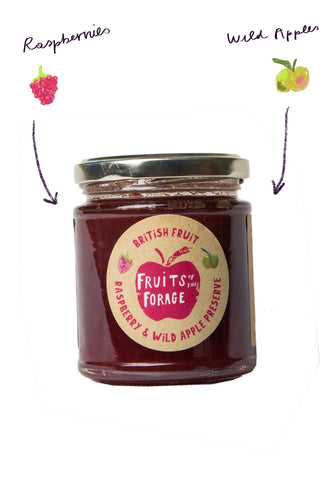 Raspberry & Wild Apple Jam