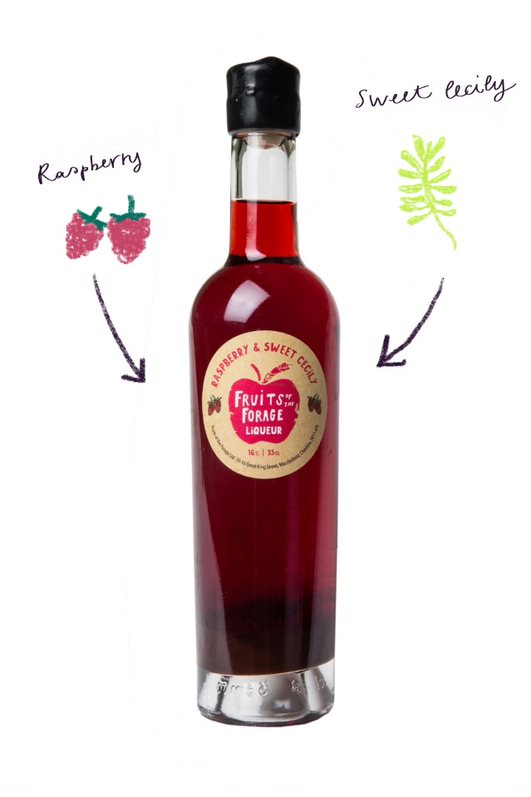 Raspberry & Sweet Cicely Liqueur (35cl)
