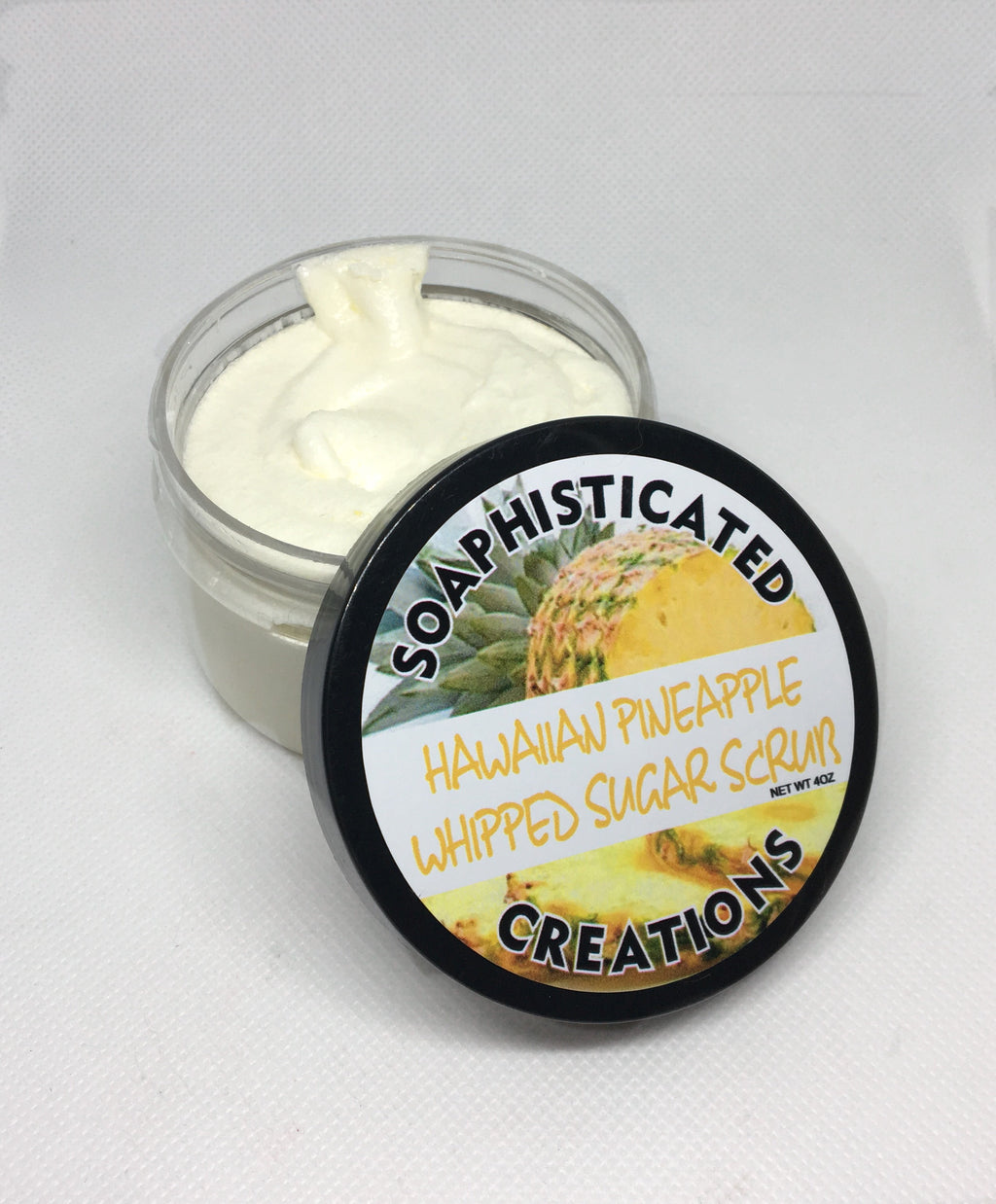 Hawaiian Pineapple Whipped Sugar Scrub