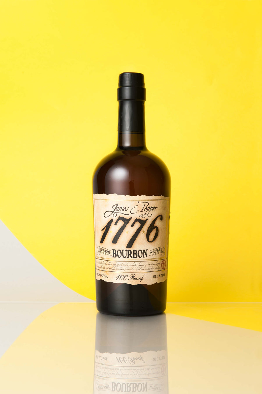 James E Pepper 1776 Straight Bourbon Whiskey
