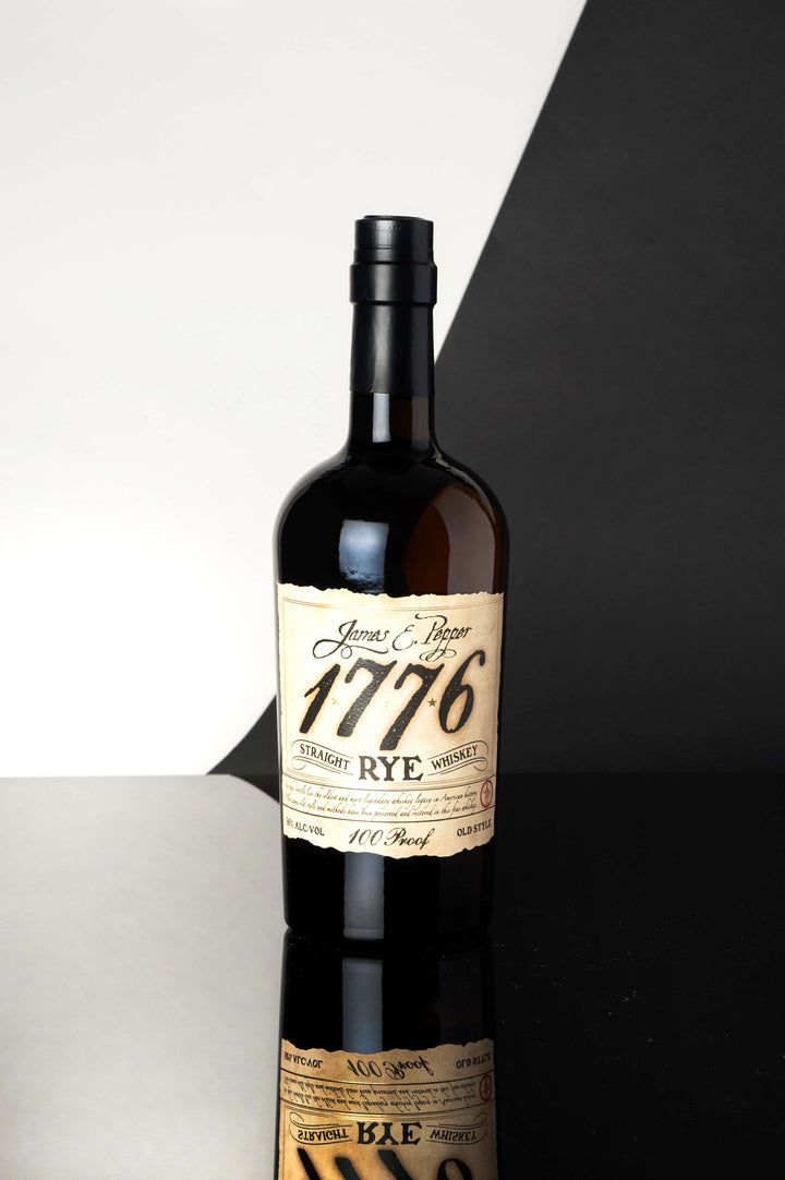 James E Pepper 1776 100 Proof Straight Rye