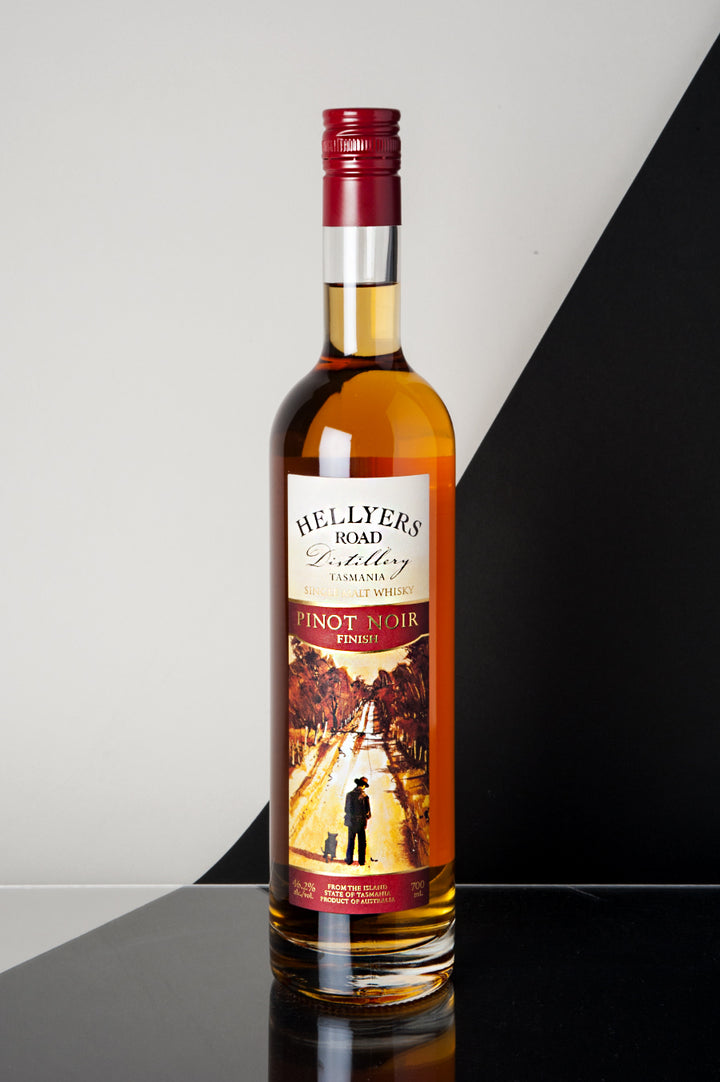 Hellyers Road Pinot Noir Finish Single Malt Whisky