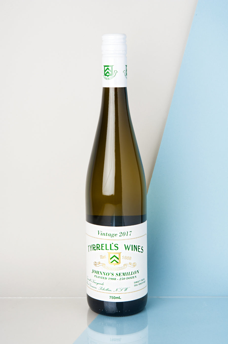 Tyrrell's Johnno's Hand Pressed Semillon 2019