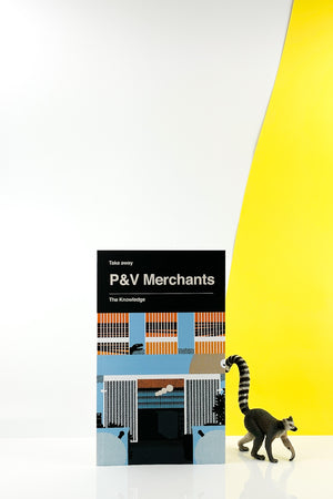 Book: Somekind Press Takeaway Series: P&V Merchants The Knowledge